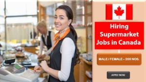 supermarket jobs in canada